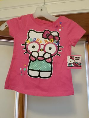 NWT Sanrio Hello Kitty Happy Birthday Shirt girls size small for Sale in Amherst, MA