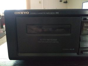 Onkyo cassette deck for Sale in Lake Shore, MD