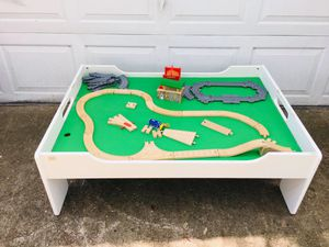 Solid wood train table for Sale in Valrico, FL
