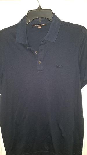 Michael Kors polo shirt blue men size medium for Sale in PT CHARLOTTE, FL