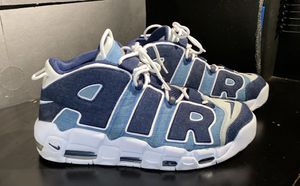 """Nike Air More Uptempo '96 QS """"Denim"""" size 13 for Sale in Silver Spring, MD"""