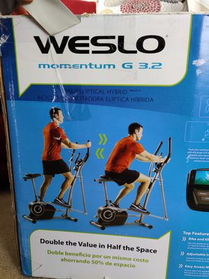 Weslo Bike and Elliptical for Sale in undefined