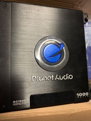 Planet audio 1000watts amp for Sale in Sanford, FL
