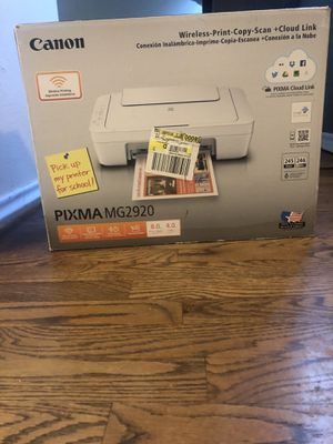 $10 Canon Pixma MG 2920 Wireless Print-Copy-Scan for Sale in Corpus Christi, TX