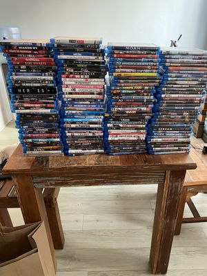 200 BLUE RAY MOVIES for Sale in Santa Monica, CA