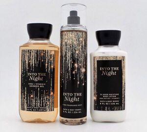 Into the night - Bath and Bodyworks gift set for Sale in San Bernardino, CA