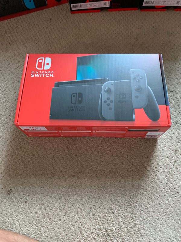 Nintendo Switch V2 Grey Brand new