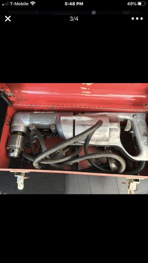 Heavy duty drill with the box for Sale in Rockville, MD