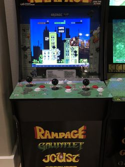 Arcade 1 Up Rampage Plus 3 More Games for Sale in Lake Stevens,  WA
