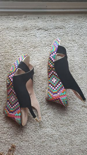Braided heels for Sale in Fairview Park, OH