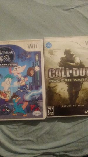 2 wii games for Sale in Cypress, CA