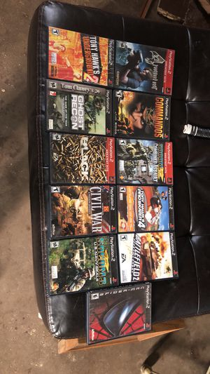 Ps2 games for Sale in Show Low, AZ