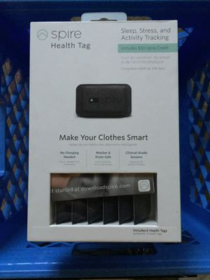 Spire Health Tags (includes 6 tags) - retail $229.95 for Sale in Seattle, WA