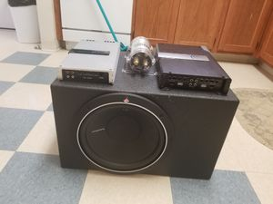 Car sound system for Sale in Newport, RI