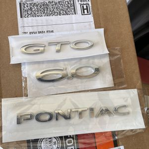 GTO Emblems for Sale in Fort Worth, TX