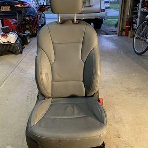 Seat Passenger Leather Gray OEM 2011-14 Hyundai Sonata 12 13 for Sale in Darien, IL