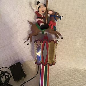 Mickey Mouse Disney Carousel Tree Topper for Sale in Tempe, AZ