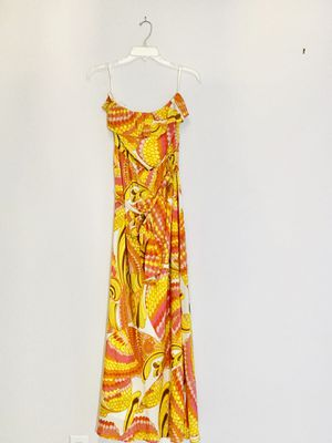 Flowy patterned strap dress for Sale in Delray Beach, FL