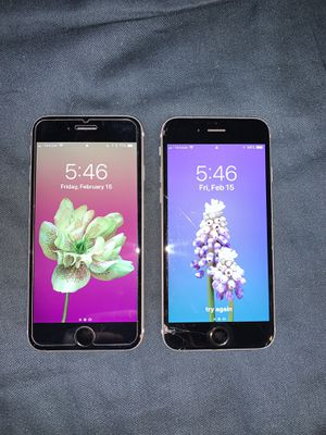 2 iPhone 6s bundle deal Unlocked carrier for Sale in Seattle, WA