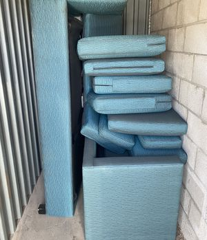 Beautiful Blue Couch with Pullout Bed and Sectional for Sale in Scottsdale, AZ