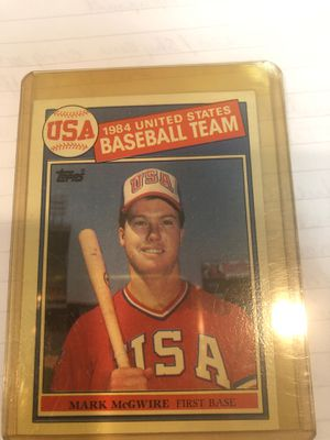 Mark McGuire Rookie Card for Sale in Oshkosh, WI