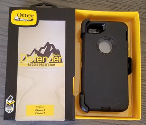 iPhone 8 iPhone 7 Otterbox Defender Series Case with belt clip holster for Sale in Canyon Country, CA