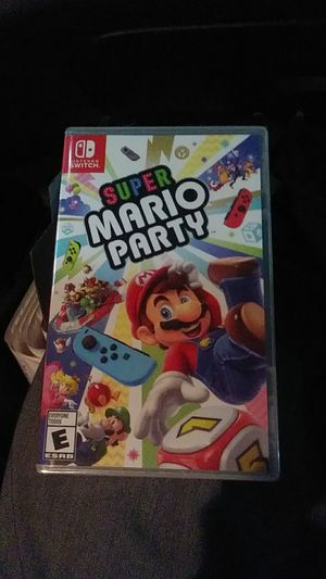 Nintendo Switch Super Mario Party for Sale in Loma Linda, CA