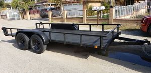 6.5X16FT TANDEM AXLE TRAILER for Sale in Menifee, CA