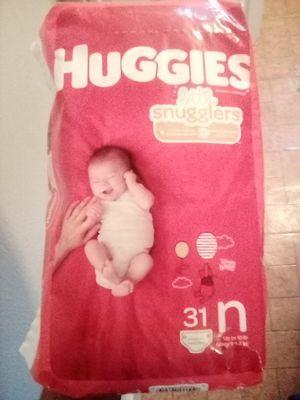 Huggies Newborn diapers. for Sale in San Bernardino, CA