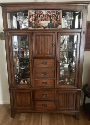 China Cabinet Hutch for Sale in Fort Belvoir, VA