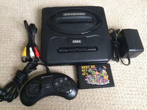 Refurbished Sega Genesis With 196 Games in 1 Cartridge for Sale in Rogers, MN