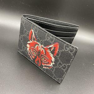 Gucci Wolf Print Wallet GG Supreme Authentic for Sale in Costa Mesa, CA