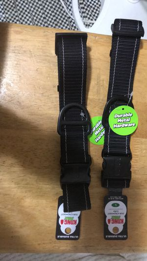 Kong Max collars toughest dog collar made 6.00 each for Sale in Houston, TX