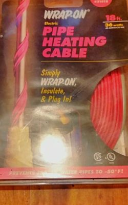 Pipe Heating cable New for Sale in East Peoria,  IL