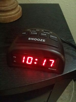 Black Alarm Clock for Sale in Hillsboro, OR