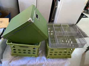 IKEA file Storage containers box crates drawer organizers for Sale in Tampa, FL