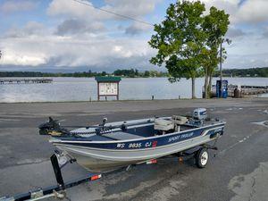 16ft Sylvan Fishing Boat for Sale in Rossville, GA