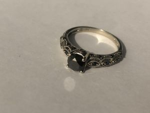 Black diamond engagement ring for Sale in Grand Terrace, CA