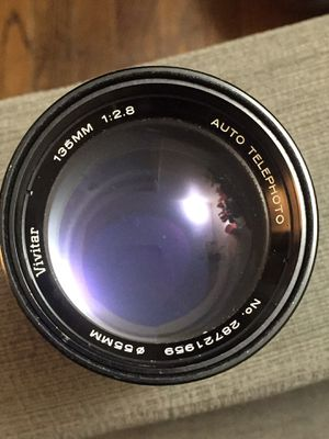 Vivitar 135mm M42 | w/ adapter for Sony E-mount Cameras for Sale in San Diego, CA