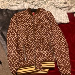Louis Vuitton supreme jacket for Sale in Bothell,  WA