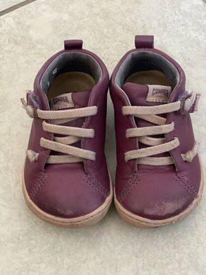 Camper leather Girls Shoes / size 22/ 6 for Sale in Chula Vista, CA