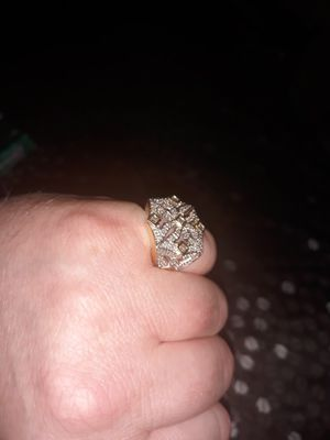14k Gold ring / white gold 1/4 carat diamonds for Sale in New Haven, CT