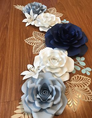Paper flowers. Flores de papel. for Sale in Norwalk, CA