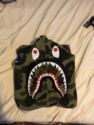 Bape shark hoodie sleeveless size m for Sale in La Mesa, CA