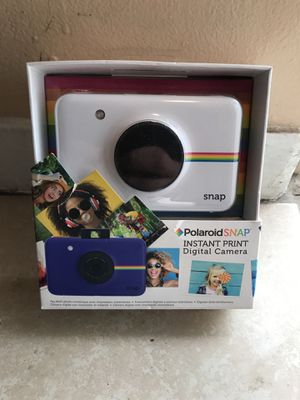 Polaroid snap instant print digital camera new for Sale in Albuquerque, NM