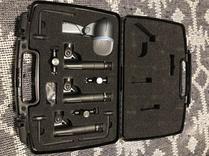 Shure Drum Mic set w/extras for Sale in Austin, TX