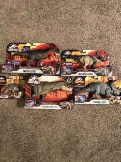 Jurassic world action figures for Sale in University Place,  WA