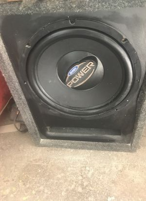 "Single 12"" sub ported box for Sale in Pittsburgh, PA"