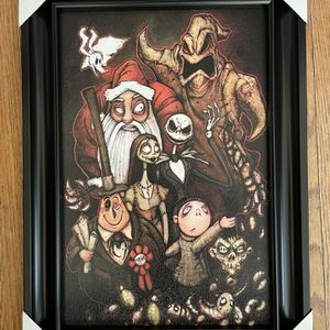 Nightmare Before Christmas Wall Decor 21.5x15.5 Inches for Sale in Camarillo, CA