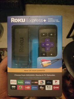ROKU EXPRESS + for Sale in Zephyrhills,  FL
